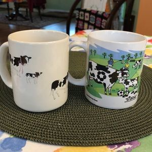 FREE 2 Moo Cow 🐄 Mugs with purchase of any item.